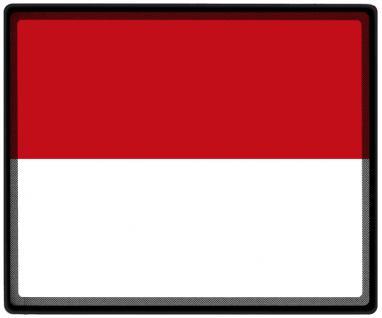 Mousepad Mauspad mit Motiv - Monaco Fahne Fußball Fußballschuhe - 82110 - Gr. ca. 24 x 20 cm