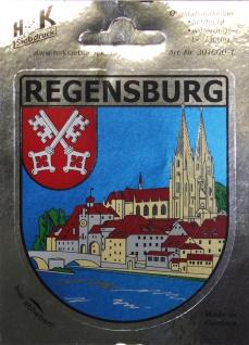 PVC-Aufkleber - Regensburg Panorama - 301600/1 - Gr. ca. 6, 5 x 8 cm