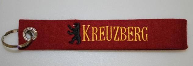 Filz-Schlüsselanhänger mit Stick - Kreuzberg - Gr. ca. 17x3cm - 14300