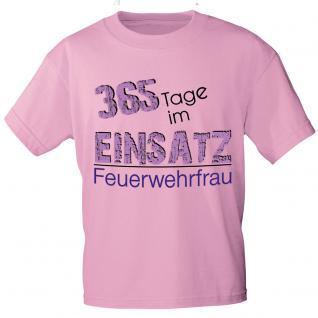 Trend-Bag Turnbeutel Sportbeutel Rucksack 365 Tage Einsatz Feuerwehrfrau 65068