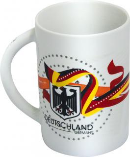 Tasse Keramiktasse Kaffeebecher - Deutschland Adler - 77591