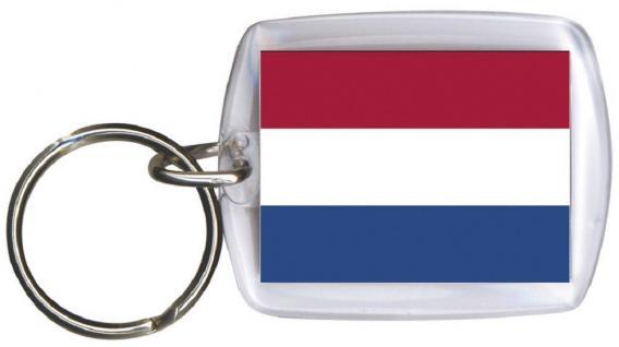 Schlüsselanhänger Anhänger - NIEDERLANDE - 81119 - Keyholder WM Länder