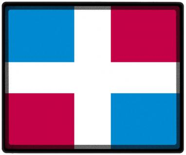 Mousepad Mauspad mit Motiv - Domenikanische Republic Fahne Fußball Fußballschuhe - 82042 - Gr. ca. 24 x 20 cm