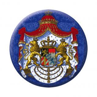Magnetbutton - Bayern Heraldik Mantel - 16238 - Gr. ca. 5, 7cm