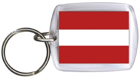 Schlüsselanhänger - ÖSTERREICH - Gr. ca. 4x5cm - 81004 - Keyholder WM Länder