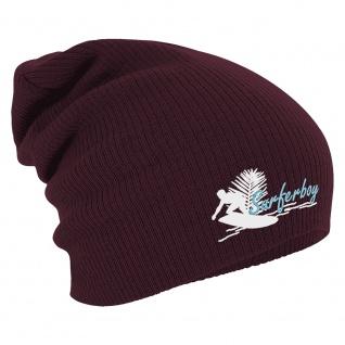 Longbeanie Slouch-Beanie Wintermütze Surferboy 55183