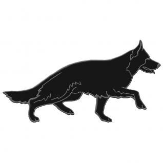 Rückenaufnäher - Schäferhund - 07377 rechts laufend Gr. ca. 37 x 17 cm - Patches Stick Applikation