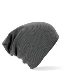 Slouch- Beanie Mütze NEUTRAL- in 4 modischen Farben - 40816 - grau - Vorschau