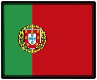 Mousepad Mauspad mit Motiv - Portugal Fahne - 82133 - Gr. ca. 24 x 20 cm