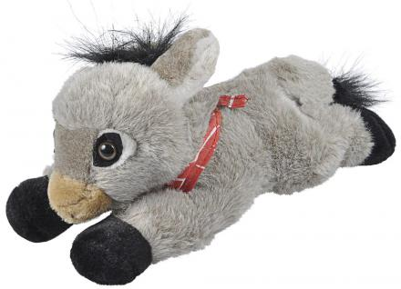 Stofftier - Kuscheltier - Plüschtier - Spielzeug - ESEL - Größe ca 30 cm - 39977