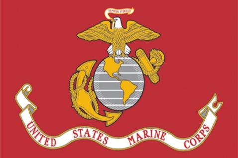 Deko-Fahne - US Marine Corps - Gr. ca. 150 x 90cm - 24409