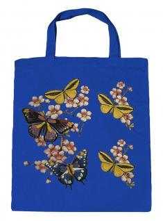 (06991-2)Umweltfreundliche Baumwoll - Tasche , ca. 28 x 43 cm mit Aufdruck in 7 Farben Royal