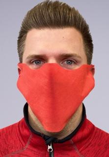 20x Einweg Mundmaske Behelfsmaske Community-Maske - Rot