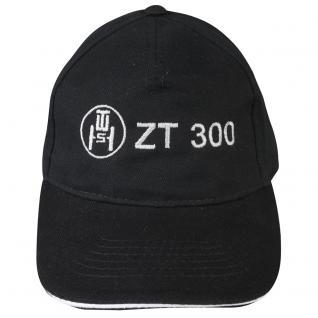 Baseballcap mit Einstickung - ZT 300 - 68543 - schwarz