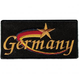 Aufnäher - Rechteck - 00032 - 80x50mm - Germany