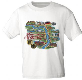 T-Shirt - Souvenir City Line - NECKARTAL - 09710 - Gr. S - XXL
