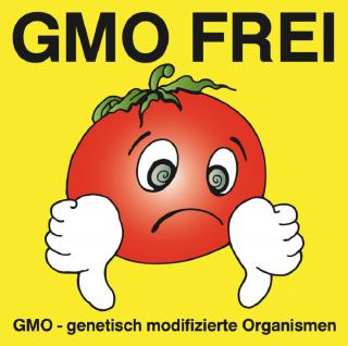 PVC Aufkleber - GMO Frei - 303126-5 - Gr. ca. 8 x 8 cm - konturengeschnitten
