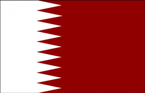 Flagge Stockländerfahne - Katar - Gr. ca. 40x30cm - 77080 - Schwenkfahne