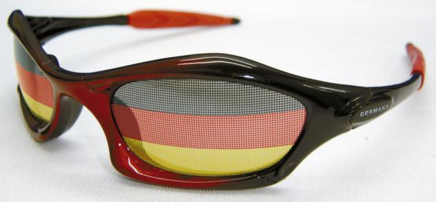 (30697) Deutschland-Brille Fanbrille Sonnenbrille Brille ? GERMANY - Deutschland