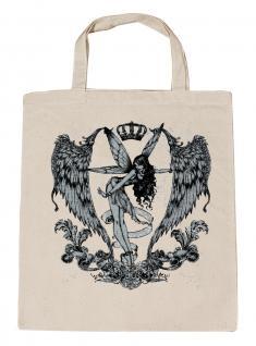 (U10898)Umweltfreundliche Baumwoll - Tasche , ca. 28 x 43 cm mit Aufdruck in 7 Farben