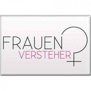 MAGNET - FRAUENVERSTEHER - Gr. ca. 8 x 5, 5 cm - 38894 - Küchenmagnet