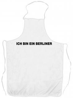 Grillschürze - Ich bin ein Berliner - 06879
