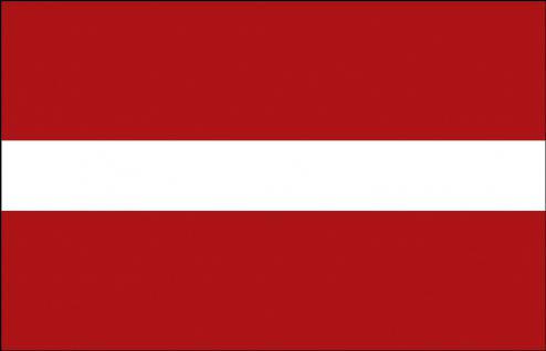 Stockländerfahne - Lettland - Gr. ca. 40x30cm - 77091 - Schwenkflagge