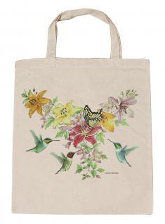 (U06996)Umweltfreundliche Baumwoll - Tasche , ca. 28 x 43 cm mit Aufdruck in 7 Farben natur