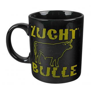 Tasse Kaffeebecher mit Print Kuh Zuchtbulle 57131