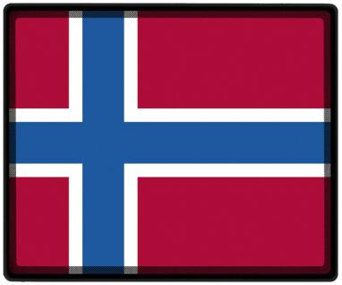 Mousepad Mauspad mit Motiv - Norwegen Fahne Fußball Fußballschuhe - 82123 - Gr. ca. 24 x 20 cm