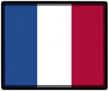 Mousepad Mauspad mit Motiv - Frankreich Fahne - 82051 - Gr. ca. 24 x 20 cm