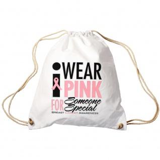 Sporttasche | Turnbeutel | Trend-Bag | Print | Wear Pink | TB12167 | versch. Farben