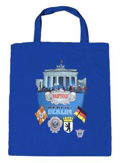 (08943-Tasche) Umweltfreundliche Baumwoll - Tasche , ca. 28 x 43 cm mit Aufdruck? Berlin?