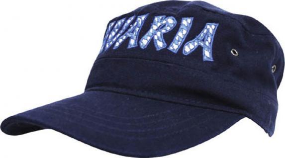 Cap - Baseball - Kappe - Style vielfarbig bestickt - Bavaria - 60494 blau - Cap Baseballcap