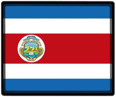 Mousepad Mauspad mit Motiv - Costa Rica Fahne Fußball Fußballschuhe - 82038 - Gr. ca. 24 x 20 cm