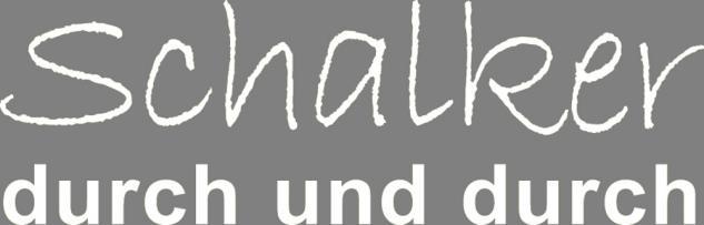 """Applikation """" Schalker durch und durch"""" in 5 Farben und 5 Größen AP4204 weiß / 40 cm"""