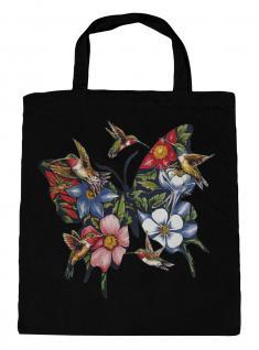 (U06993)Umweltfreundliche Baumwoll - Tasche , ca. 28 x 43 cm mit Aufdruck in 7 Farben schwarz