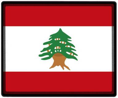 Mousepad Mauspad mit Motiv - Libanon Fahne Fußball Fußballschuhe - 82092 - Gr. ca. 24 x 20 cm