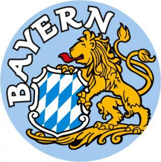 Auto-Aufkleber - Bayern Löwe - 303946 - Gr. ca. 2, 1 cm
