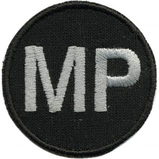 AUFNÄHER - MP - 03278 - Gr. ca. 5 cm - Patches Stick Applikation