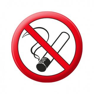 Kühlschrankmagnet - Rauchen verboten - Gr. ca. 5, 7 cm - 16102 - Küchenmagnet