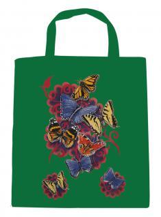 (U09842)Umweltfreundliche Baumwoll - Tasche , ca. 28 x 43 cm mit Aufdruck in 7 Farben grün
