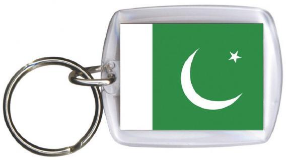 Schlüsselanhänger Anhänger - PAKISTAN - Gr. ca. 4x5cm - 81129 - Keyholder WM Länder