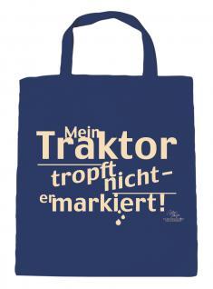 Baumwolltasche mit Druck - Mein Traktor tropft nicht, .... - 08995 - Bag Cotton
