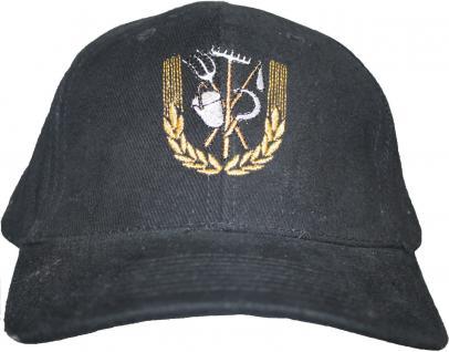Cap mit zunftiger Einstickung Landwirt Bauer Zunft - Landwirtschaft - 68618 grau - Baseballcap Baumwollcap Cappy Kappe