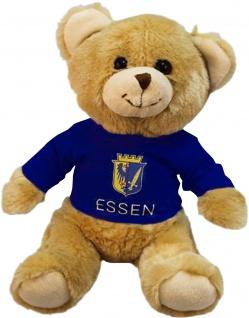 Plüsch - Teddybär mit Shirt - Essen - 27083 - Größe ca 26cm
