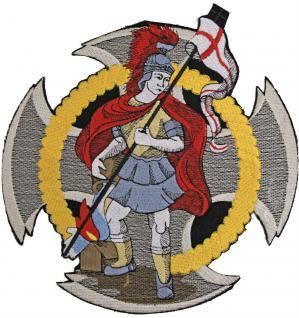 Rücken-Aufnäher große Applikation - 08597 - Gr. ca. 19x20 cm - Stick Emblem Feuerwehr