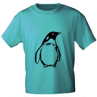 T-Shirt unisex mit Aufdruck in drei Farben Pingiun Gr. S ? XL 10144 hellblau / L