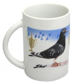 Tasse Kaffeebecher Taube die Champions 57436