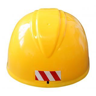 Baustellen- Helm, Bauhelm für Kinder mit Beschriftung Chef 51681 - Vorschau 3